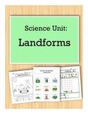 Landforms: Science Unit for Kids with Autism
