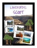Landforms Scoot/Task Cards