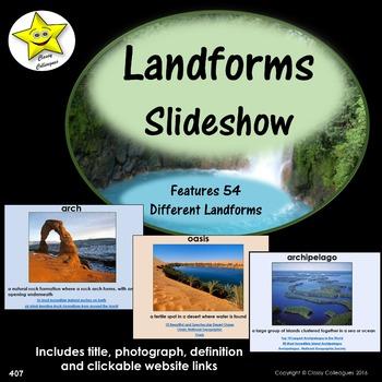 Landforms Slideshow