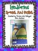 FREE Landforms Spanish AND English Foldable