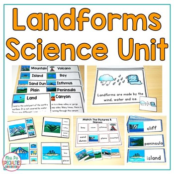 Landforms  (Special Education Science Unit)