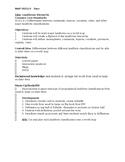 Landforms Station Notes & Foldable