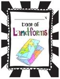 Landforms Student Mini Book Science 3.E.2.2