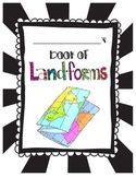 Landforms Student Mini Book Science 3.E.2.2
