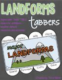 Landforms Tabbers Texas TEKS