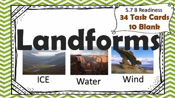 Landforms Task Cards