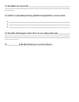 Landforms Test Prep/Review