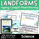 Landforms Unit, Inquiry and Project-Based Learning