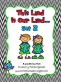 Landforms Unit: This Land is Our Land... {Set 2}