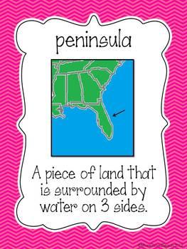 Landforms Unit: This Land is Our Land... {Set 2}
