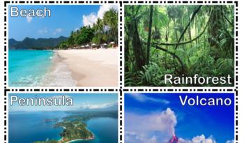Landforms Visual Cards