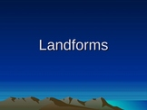 Landforms Vocabulary Powerpoint