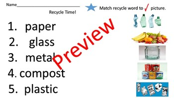 Landforms, Water Conservation, and Recycle Unit