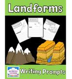 Landforms Writing Prompts