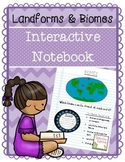Landforms and Biomes Interactive Notebook