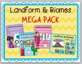 Landforms and Biomes MEGA Pack