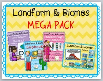 Landforms and Biomes MEGA Pack