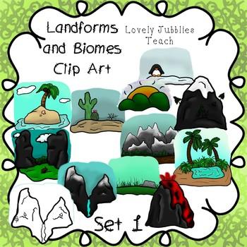 Landforms and Biomes Set 1