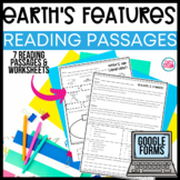 Landforms and Bodies of Water | Earth's Features Reading Passages