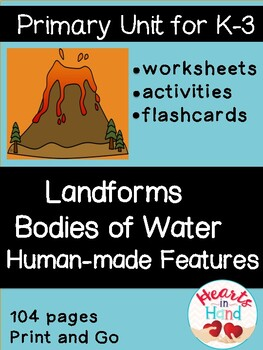 Landforms and Bodies of Water K-3