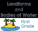 Landforms and Bodies of Water - Mini-Book Bundle GROWING