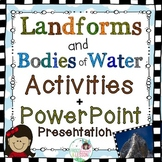 Landforms Activities and PowerPoint