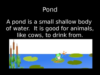 Landforms and Bodies of Water Simple for Kids