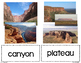 Landforms and Bodies of Water Vocab Picture Cards