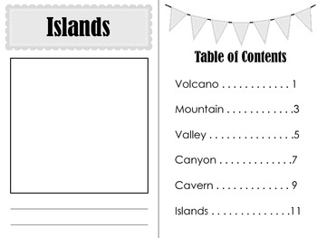 Landforms and Features