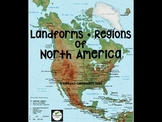 Landforms and North American Regions