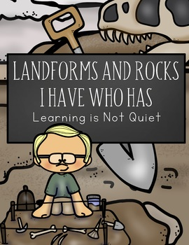 Landforms and Rocks I Have Who Has Cards (VA SOL 5.7 Earth Patterns, Cycles)