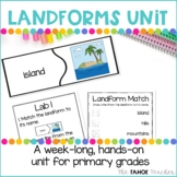 Landforms and Water Bodies STEAM Unit | Science Centers for Primary Grades