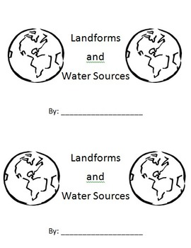 Landforms and Water Sources