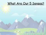 Landforms and Your Five Senses