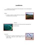 Landforms for 2nd Grade