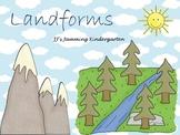 Landforms for Kindergarten