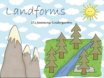 Landforms for Kindergarten