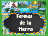 Landforms in Spanish