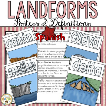 Landforms in Spanish