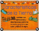 Landforms in spanish - Caracteristicas de la Tierra o Accidentes geograficos