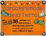 Landforms in spanish - Caracteristicas de la Tierra o Acci