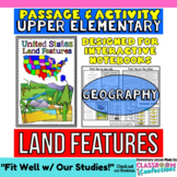 Landforms: Passage and Questions: U.S. Land Features