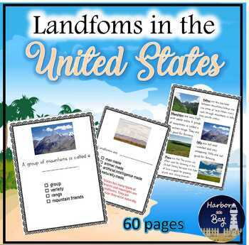 Landforms in the United States