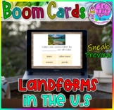 Landforms in the United States | BOOM Cards