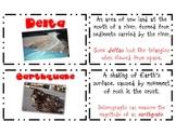 Landforms of Georgia Vocabulary Cards