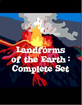 Landforms of the Earth Complete Set - Bundle