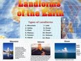 Landforms - Quiz - Mountain - Valley - Plain - Canyon - Interactive PowerPoint