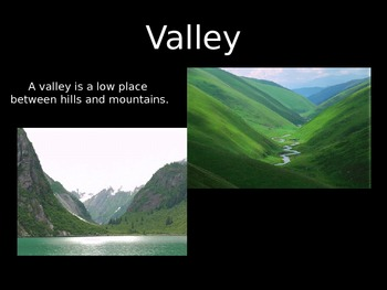 Landforms of the Earth PowerPoint