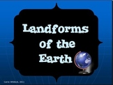 Landforms of the Earth Presentation - PDF