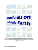 Landforms on Google Earth